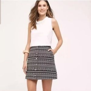 Anthro's Maeve Tribal Print Skirt